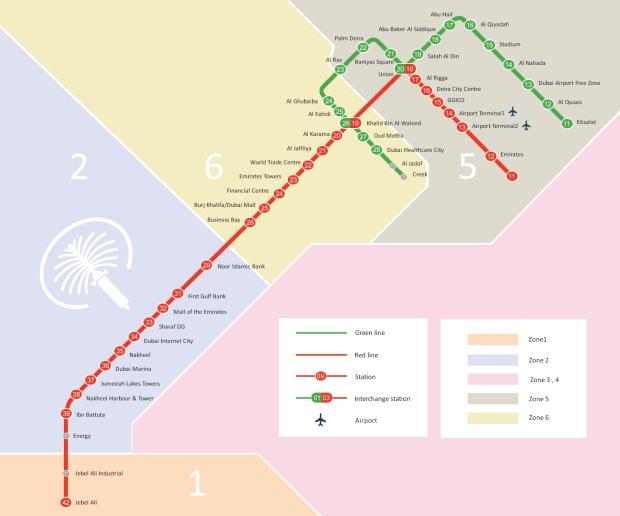 worldbyjasmine - DubaiMetro